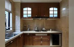 新古典 收纳 玄关 别墅 厨房图片来自张勇高级室内设计师在紫阙·天禄的分享