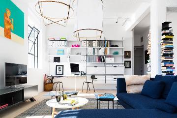 简约工业风格loft公寓