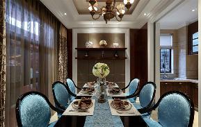 新古典 收纳 玄关 别墅 餐厅图片来自张勇高级室内设计师在紫阙·天禄的分享