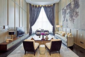 简约 现代 温馨 舒适 时尚前卫 环保 客厅图片来自北京紫禁尚品国际装饰kangshuai在北京润泽公馆的分享