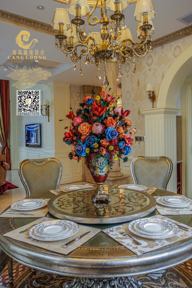 别墅 欧式 法式奢华 青岛设计 别墅设计图片来自藏珑在法式别墅设计作品的分享