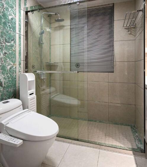 卫生间图片来自武汉苹果装饰在苹果装饰-盛世江城案例的分享