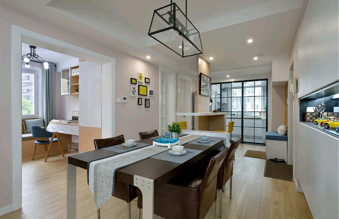 现代 混搭 三居 餐厅图片来自成都丰立装饰工程公司在感受现代混搭生活的分享