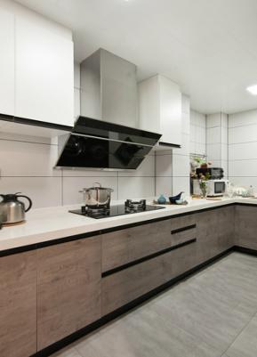 三居 现代简约 小清新 厨房图片来自九鼎建筑装饰工程有限公司成都分在信和御龙山的分享