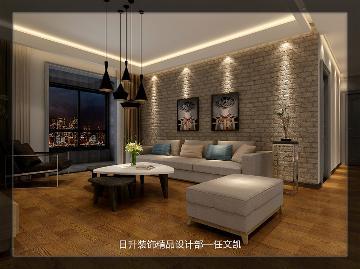 三居室简约风格装修