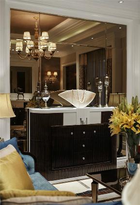 新古典 收纳 玄关 别墅 玄关图片来自张勇高级室内设计师在紫阙·天禄的分享