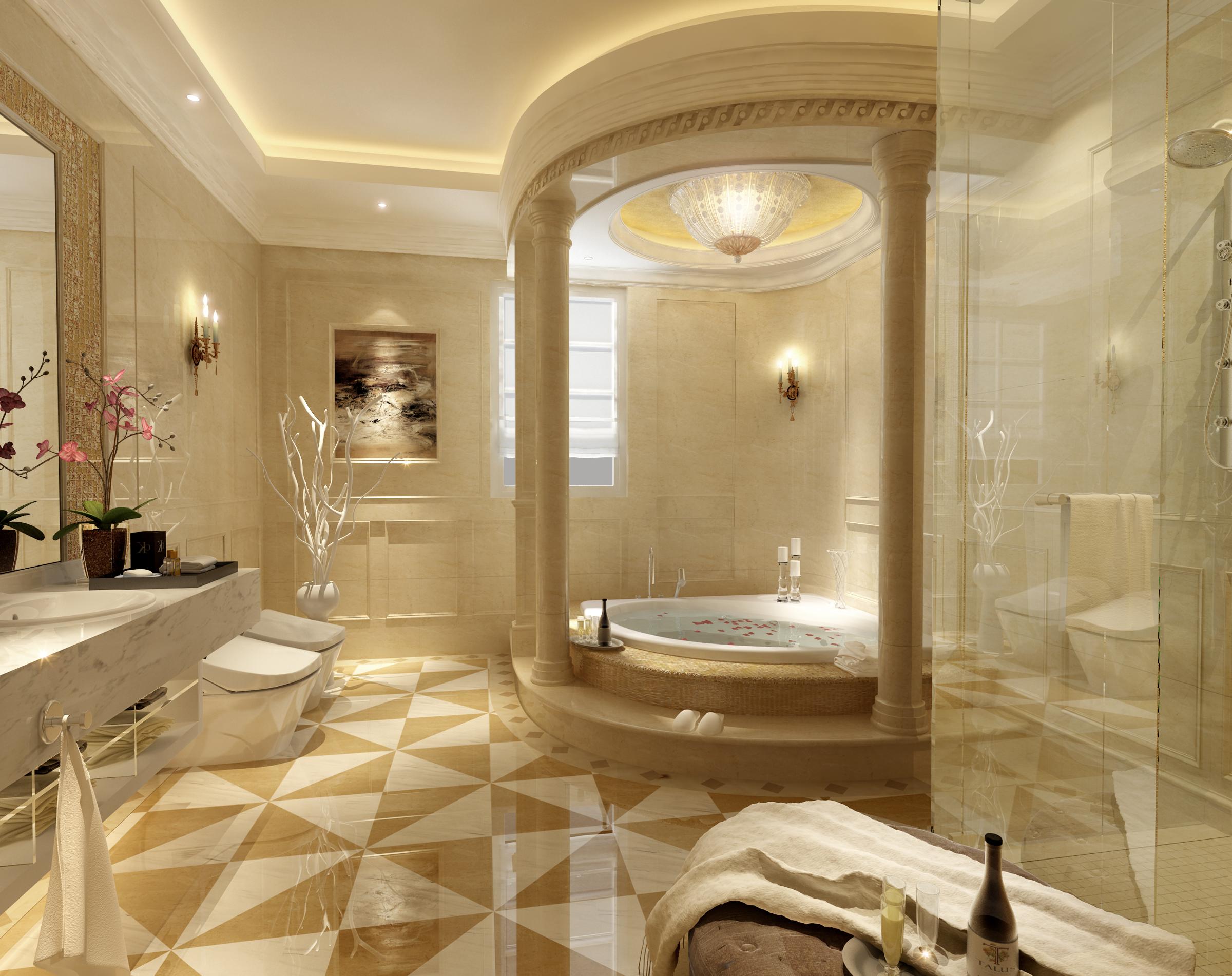 三居 港式 英伦 卫生间图片来自天津京尚装饰在京尚装饰-观锦-港式三居128㎡的分享