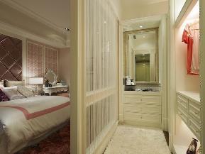 万和四季 亚奥 新古典 三居 衣帽间图片来自别墅设计师杨洋在新古典的细致美感设计效果的分享