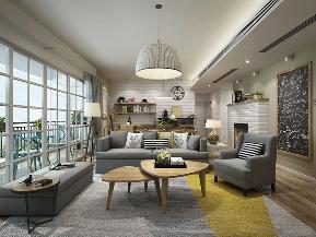 三居 现代简约 小清新 客厅图片来自九鼎建筑装饰工程有限公司成都分在信和御龙山的分享