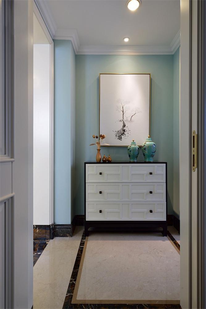 新古典 别墅 玄关图片来自张勇高级室内设计师在紫禁壹号院的分享