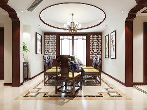 三居 中式 温馨 古风 餐厅图片来自tjsczs88在清雅婉约,古典中式的分享