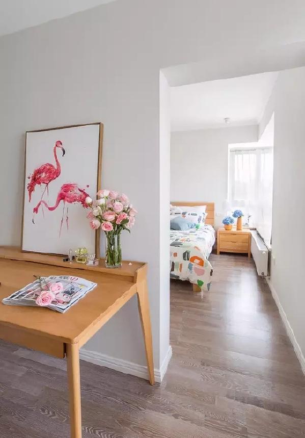 ▲ 粉红粉蓝的软装配色,带来浪漫的氛围