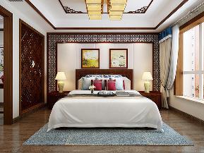 三居 中式 温馨 古风 卧室图片来自tjsczs88在清雅婉约,古典中式的分享