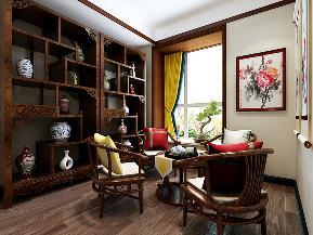 三居 中式 温馨 古风 书房图片来自tjsczs88在清雅婉约,古典中式的分享