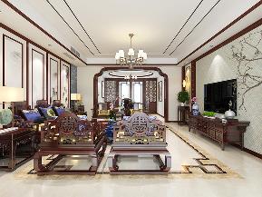 三居 中式 温馨 古风 客厅图片来自tjsczs88在清雅婉约,古典中式的分享