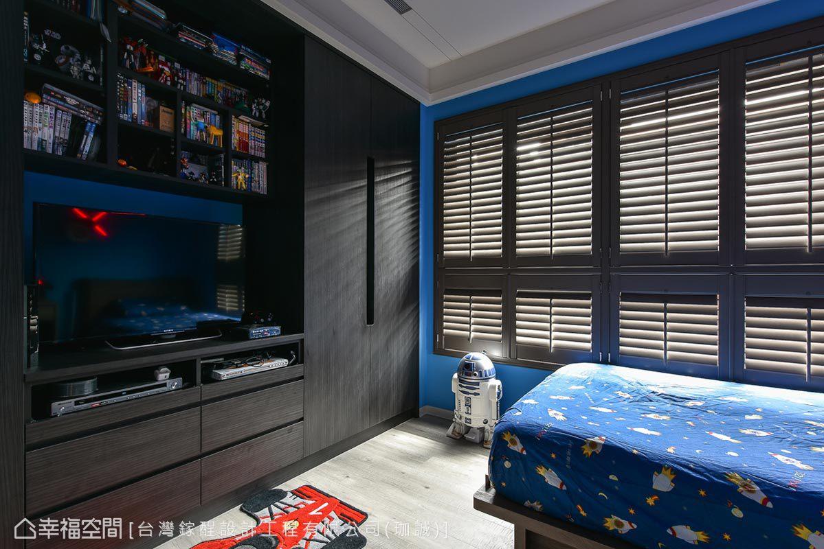 乡村 三居 田园 简约 卧室图片来自幸福空间在弄。乡村的分享
