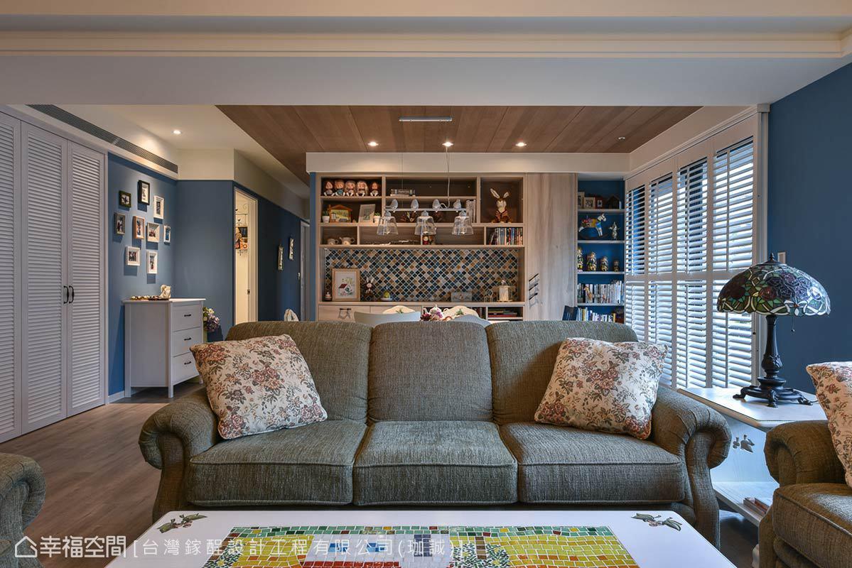 乡村 三居 田园 简约 客厅图片来自幸福空间在弄。乡村的分享
