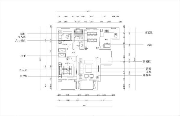 本小区为碧桂园两室一厅一厨一卫114平米,标准户型,南北通透,适合居住。