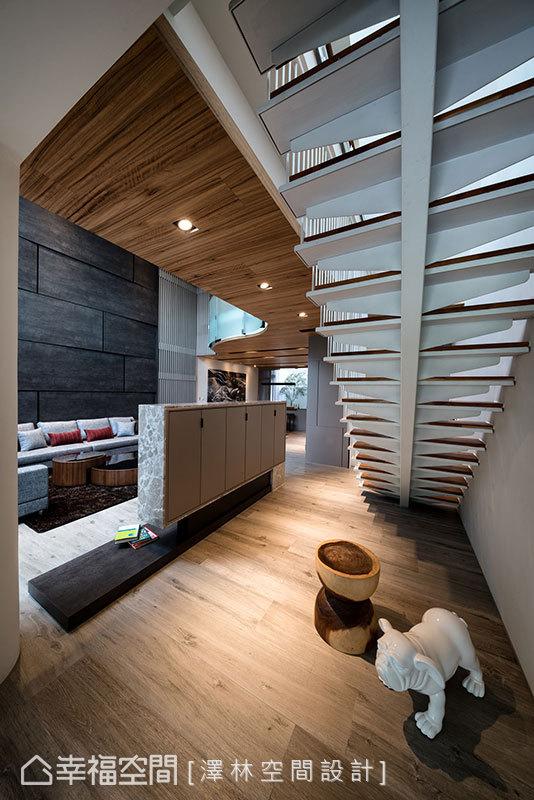 别墅 现代 简约 收纳 楼梯图片来自幸福空间在风赋的分享