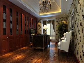 新古典 简约新古典 别墅 别墅装修 小资 书房图片来自沙漠雪雨在350平米典雅时尚简约新古典大宅的分享