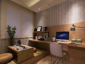 简约 三居 温馨 舒适 书房图片来自tjsczs88在舒适生活简约风的分享