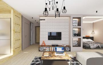百合家园144㎡现代两居