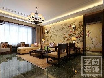 泰宏建业国际城-新中式风格装修