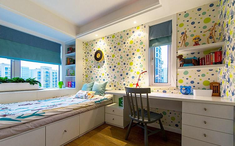 二居 欧式 简约 卧室图片来自赢和国际设计在可逸兰亭的分享