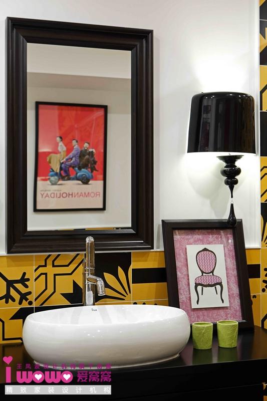 波普风, 二居 卫生间图片来自爱窝窝精致家装机构在时尚教主的分享