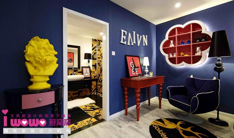 波普风, 二居 其他图片来自爱窝窝精致家装机构在时尚教主的分享