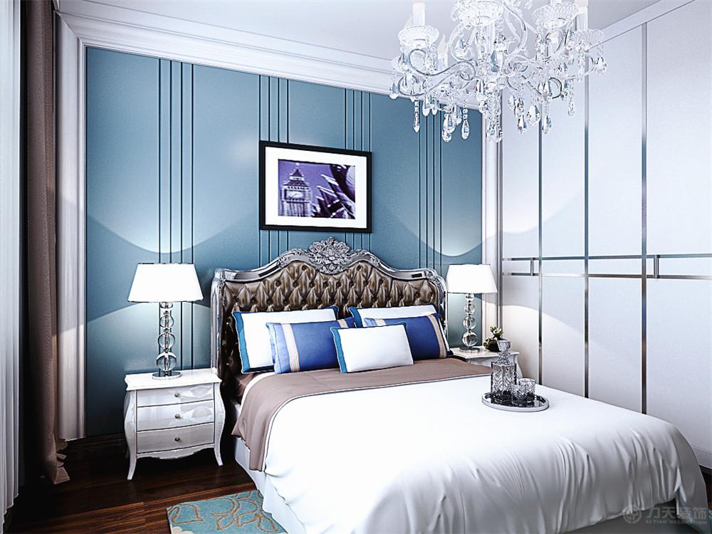 卧室图片来自阳光力天装饰在欧式风格   海河大观  212㎡的分享