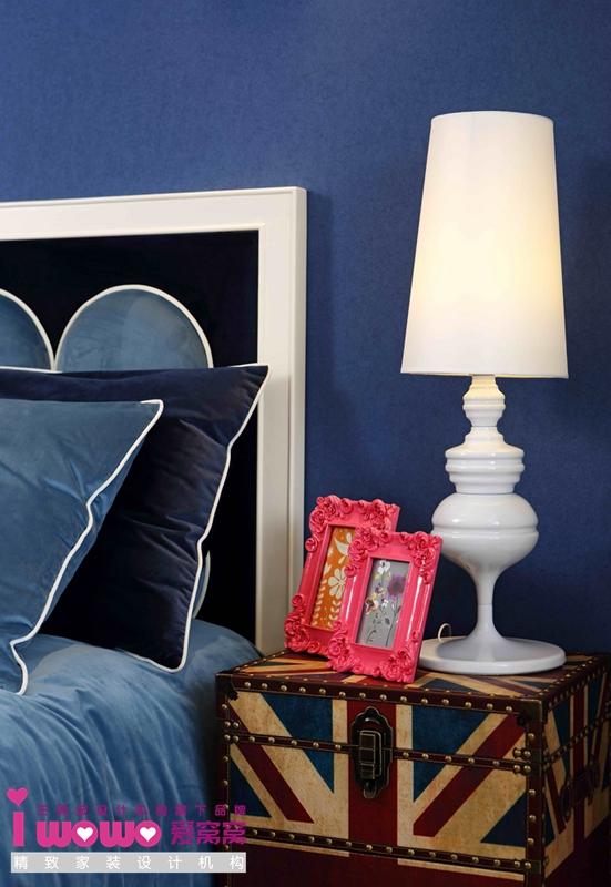 波普风, 二居 卧室图片来自爱窝窝精致家装机构在时尚教主的分享