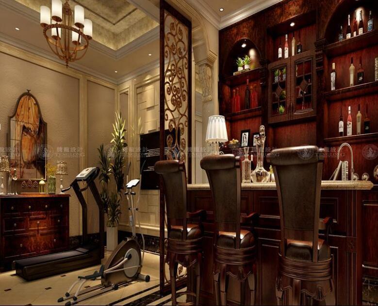 华贸东滩花 别墅装修 欧式古典风 腾龙设计 餐厅图片来自孙明安在华贸东滩360平别墅新古典设计的分享