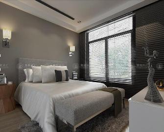华贸东滩350平别墅装修现代风格