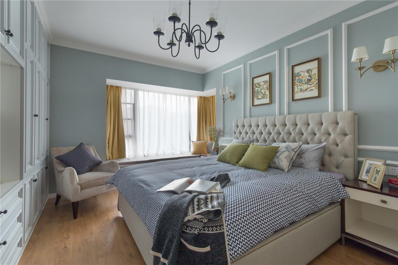 简约 美式 欧式 田园 混搭 三居 别墅 旧房改造 收纳 卧室图片来自周楠在摩登不失传统 年轻不失稳重的分享