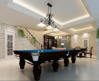 华贸东滩250平简美风格设计