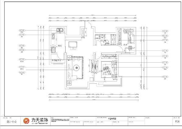 本案为首玺一期高层标准层B2户型2室2厅1卫1厨100㎡。