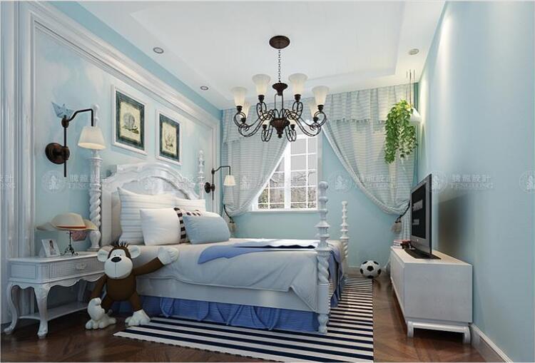 华贸东滩花 别墅装修 中式风格 腾龙设计 卧室图片来自孙明安在华贸东滩花园别墅装修新中式风的分享