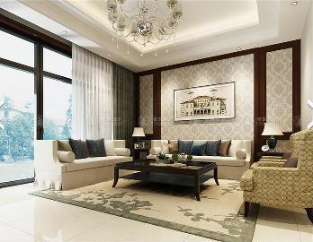 华贸东滩190平户型装修设计