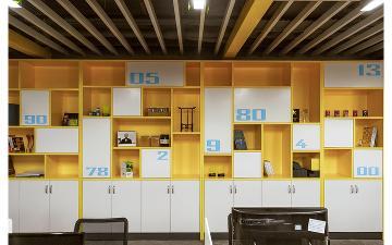深圳华夏星光公司办公室
