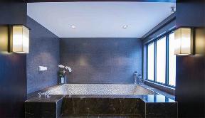 别墅 中式 收纳 卫生间图片来自张勇高级室内设计师在新中式典藏设计案例的分享