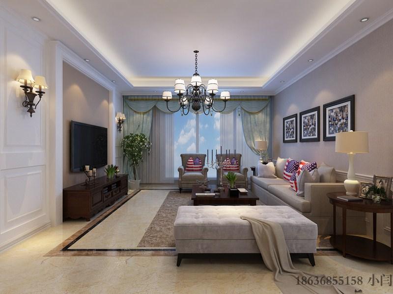三居 80后 欧式 客厅图片来自装家美在昌盛双喜城188平米美式风格的分享