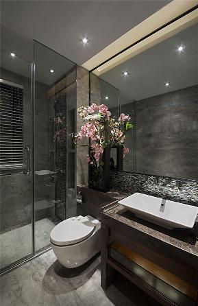 简约 中式 别墅 收纳 卫生间图片来自张勇高级室内设计师在中式案例作品的分享