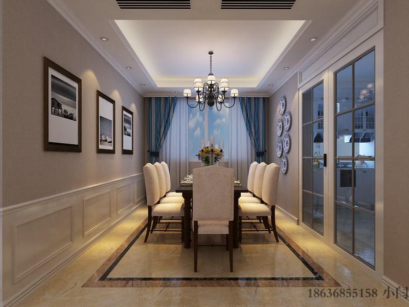 三居 80后 欧式 餐厅图片来自装家美在昌盛双喜城188平米美式风格的分享