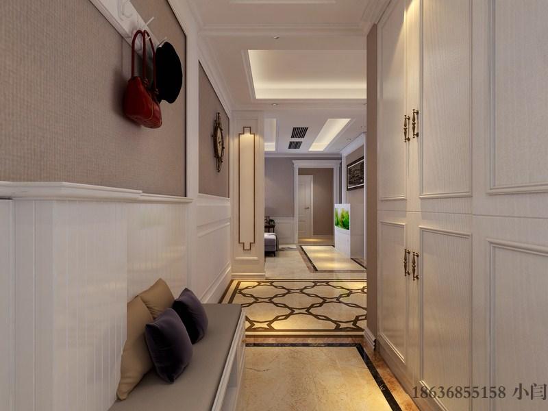 三居 80后 欧式 玄关图片来自装家美在昌盛双喜城188平米美式风格的分享