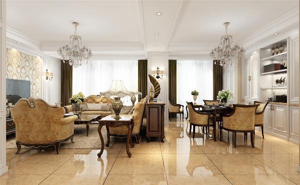 德绍豪斯复式户型装修欧美风格设计方案展示,上海腾龙别墅设计