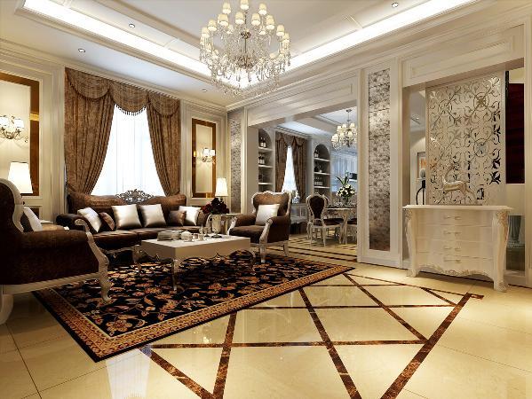 达安圣芭芭花园别墅装修欧式风格设计方案展示,上海腾龙别墅设计,