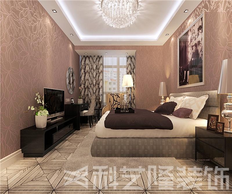 卧室图片来自天津科艺隆装饰在华城佳苑—简欧风格—88㎡的分享