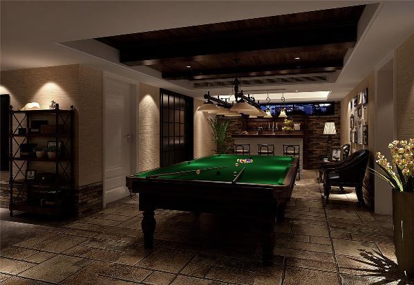 英郡雷丁330平别墅装修美式风格设计方案展示,上海腾龙别墅设计,