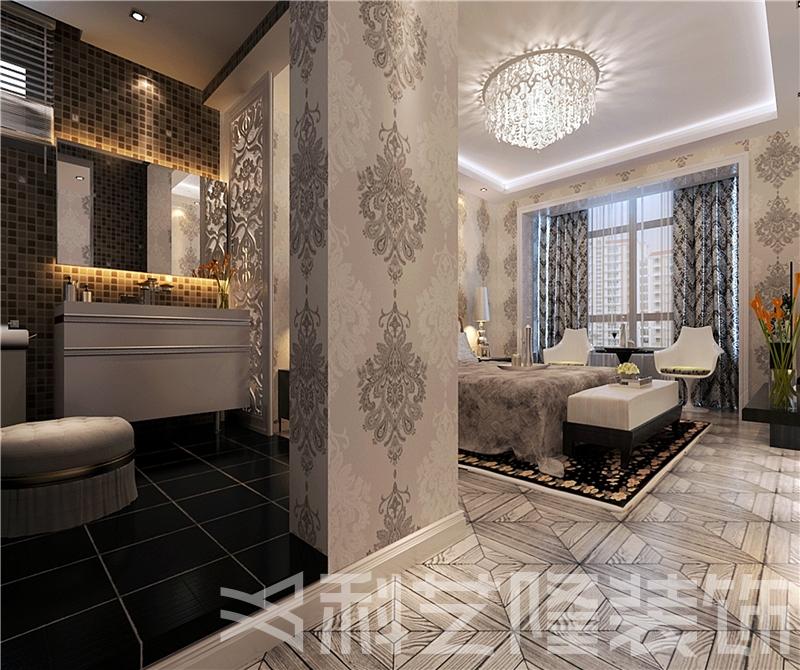 其他图片来自天津科艺隆装饰在华城佳苑—简欧风格—88㎡的分享